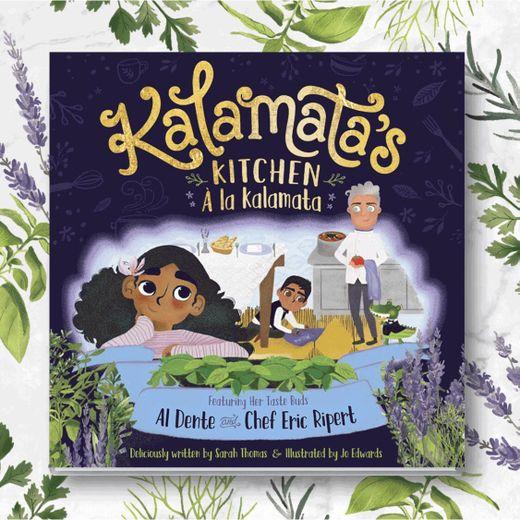 """Kalamata's Kitchen """"à la Kalamata"""" par Chef Eric Ripert"""