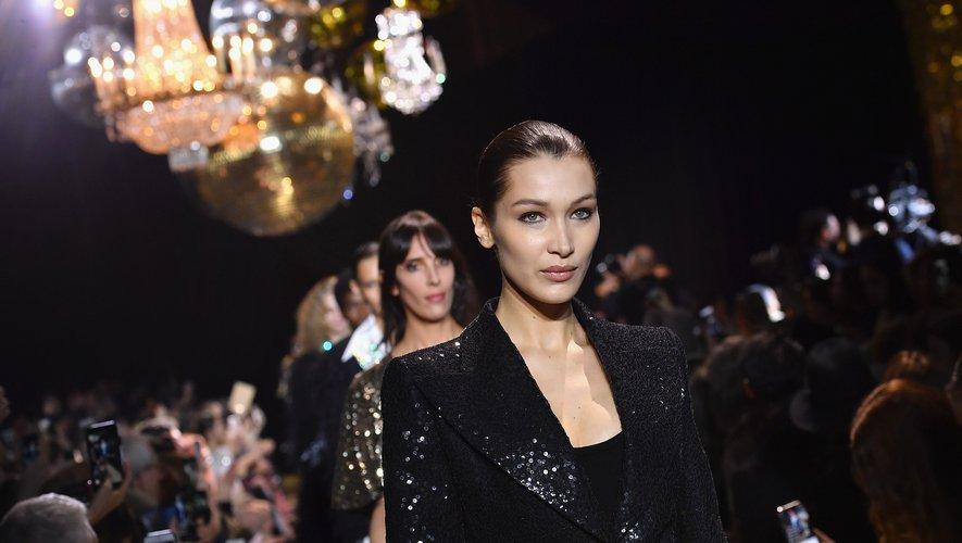 Bella Hadid lors du défilé Michael Kors pour la Fashion Week de New York automne 2019