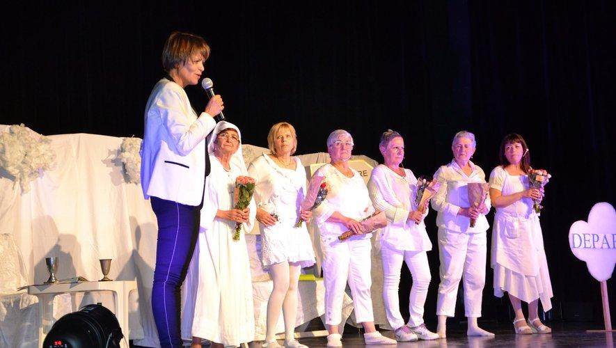 Sylvie Fadat a félicité ses comédiennes pour leur prestation.