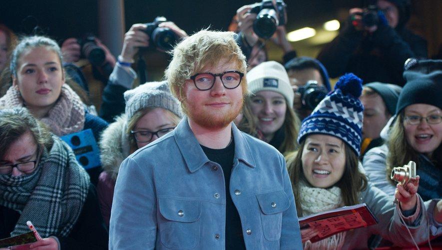 Ed Sheeran à la Berlinale le 23 février 2018