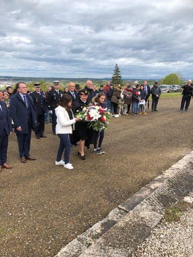 Les enfants très présents au Mémorial pour ce 74e anniversaire de l'Armistice