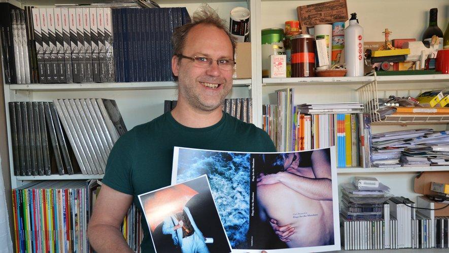 David Fourré, passionné de photographies et créateur des éditions lamaindonne en 2011.