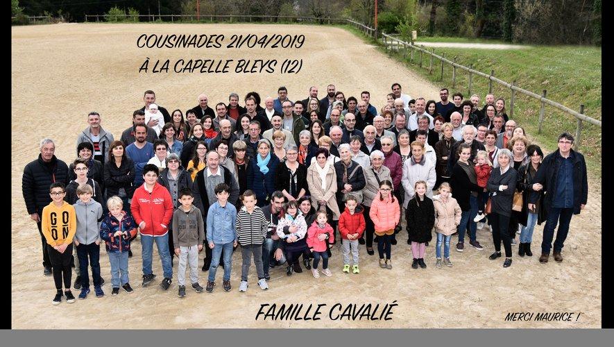 La famille Cavalié au grand complet