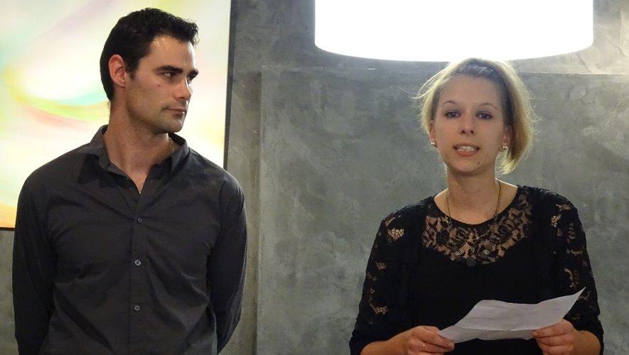 Marlène et Mathieu ont accueilli chaleureusement leurs clients et amis