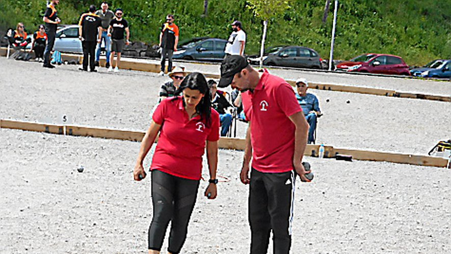 Christelle Alary-Caldas et Sébastien Caldas ont une carte à jouer en doublettes mixtes.