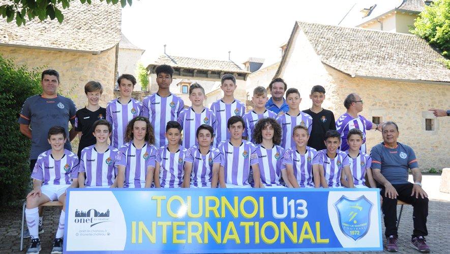 L'équipe de Valladolid, gagnante de l'édition 2018.
