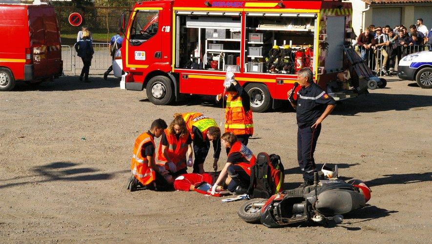 L'an dernier, le choc visuel de l'accident avait éteint le brouhaha juvénile.