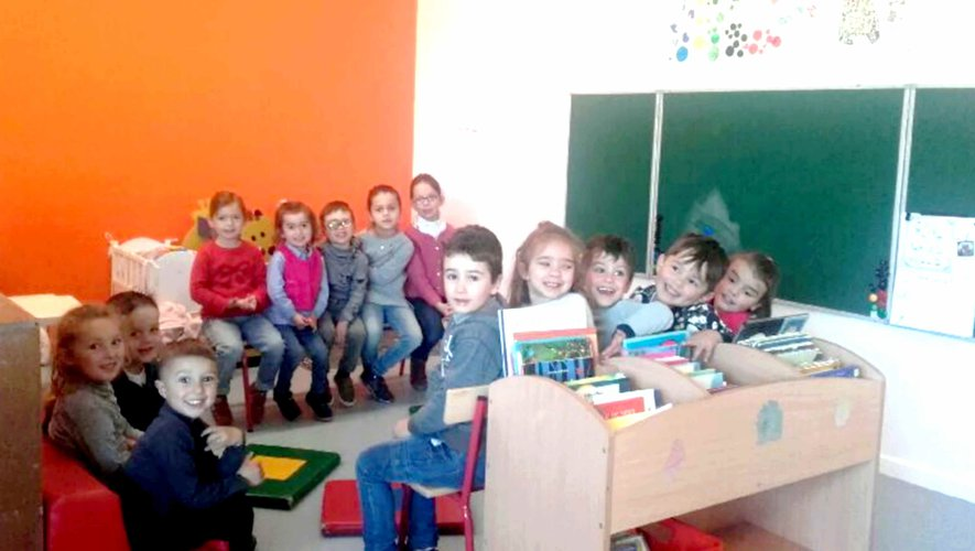 Classe de la nouvelle école du village