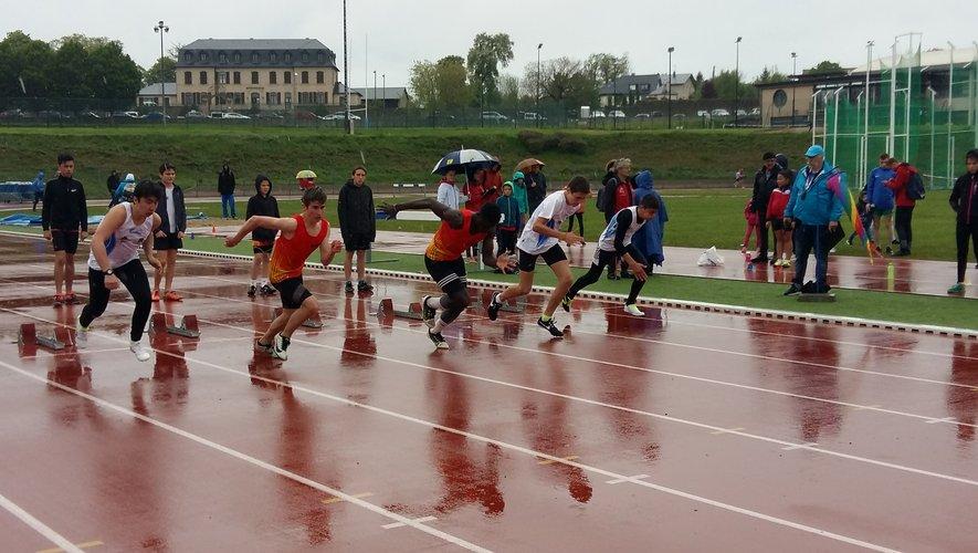 200 athlètes ont bravé le mauvais temps à Vabre (Rodez)