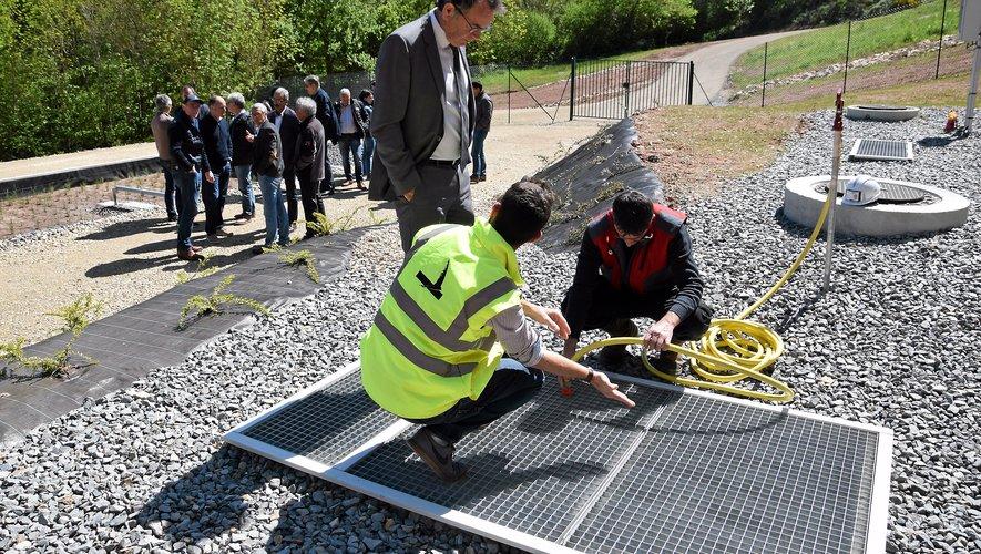 C'est le cabinet Aveyron étude environnement de Rodez qui a conçu l'installation.