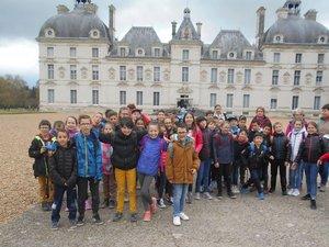 Les participants à cette semaine de classe découverte.