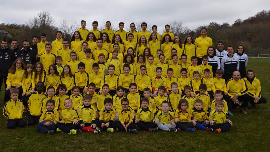 Le développement de l'école de foot a été l'un des points forts au cours de ces dix saisons, ici en septembre 2018.