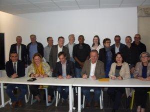 Lors des signatures de conventions avec les différents établissements scolaires.