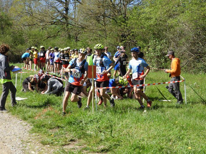 Les lycéens ont parcouru une distance totale de 22,2 km, ce mercredi 15 mai.