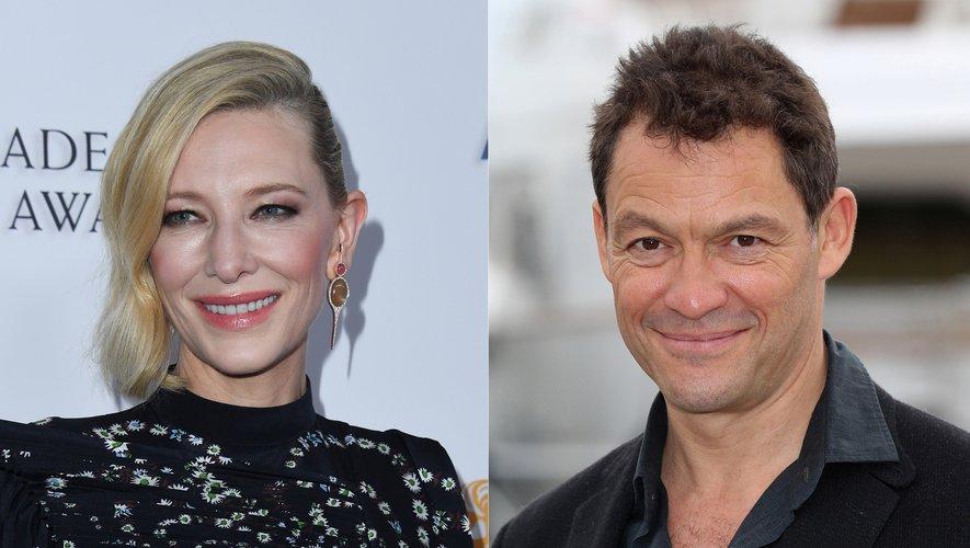 Pour le moment, les détails des personnages incarnés par Cate Blanchett (à gauche) et Dominic West n'ont pas encore été révélés.
