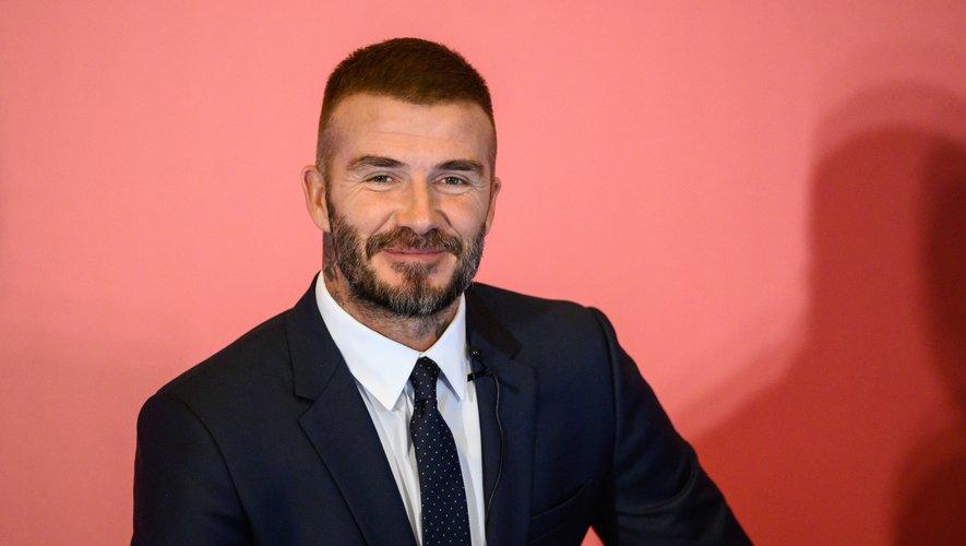 L'ancien footballeur anglais David Beckham