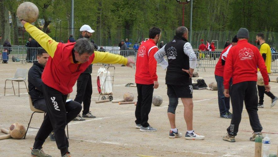 Georges Escalié en pleine action.