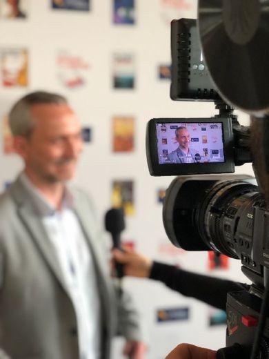 Le prix Maison de la presse remis à Olivier Norek