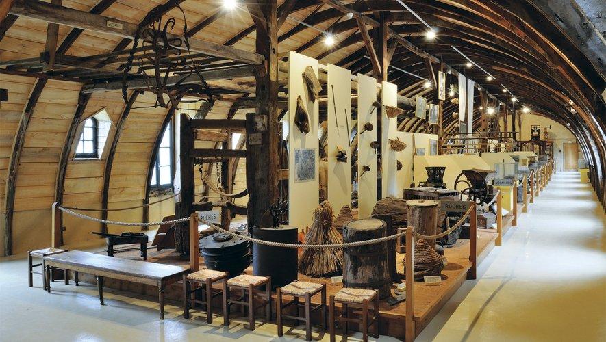 Le musée de Salles-la-Source.