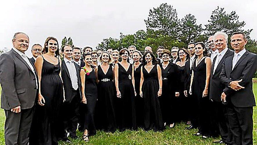 Un concert donné par la chorale Mazas Occitanie.