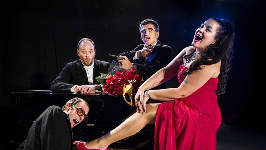 Le quatuor Acide Lyrique enchantera par sa folie bien orchestrée.