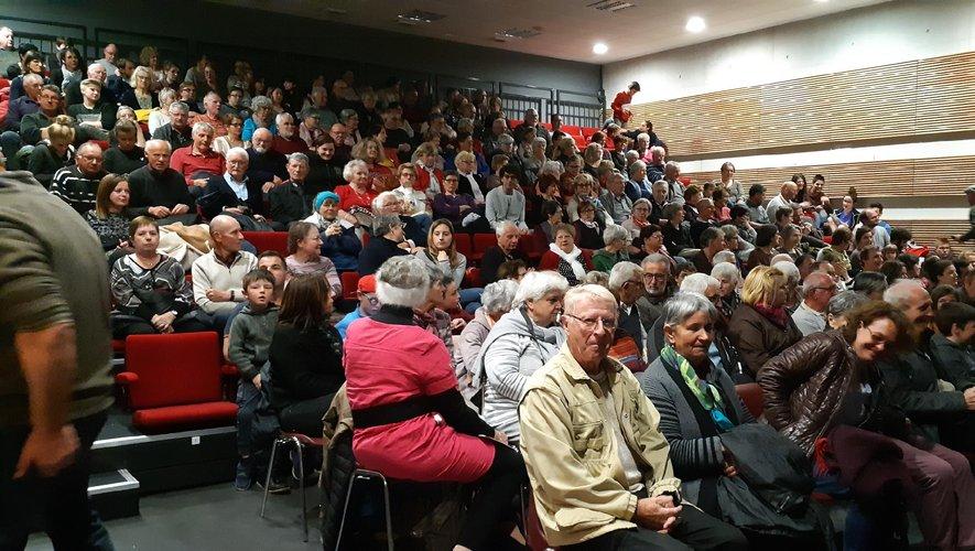 Un public nombreux venu les applaudir
