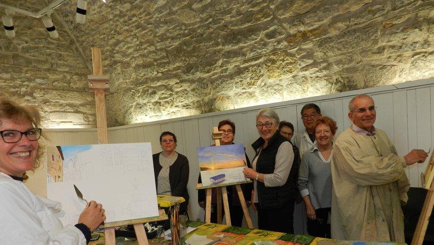 Le Club artistique villefranchois recèle de réels talents.