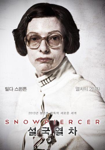 "Tilda Swinton dans le film ""Snowpiercer"""
