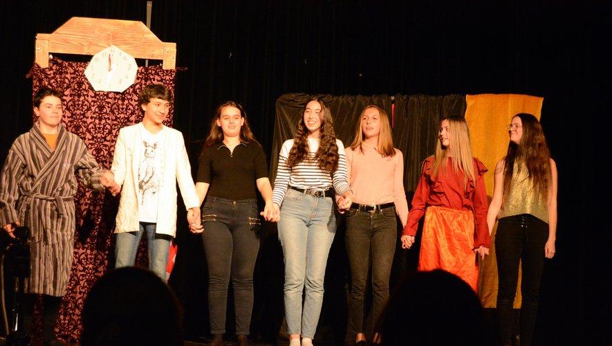 Les jeunes comédiens vous donnent rendez-vous à la Maison des associations.
