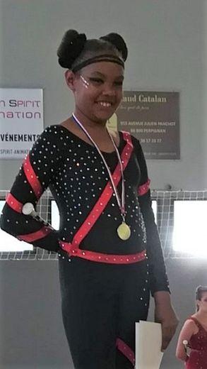 Marième, championne d'Occitanie.