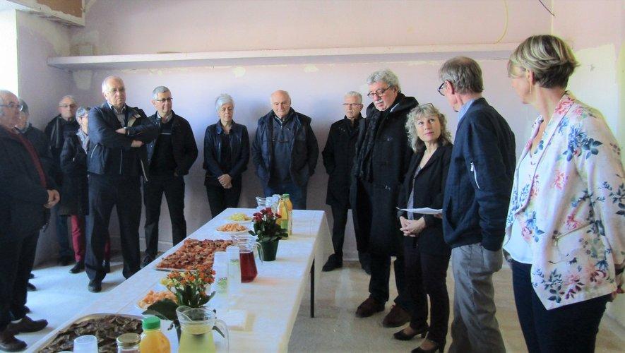 Un buffet bien garni a clôturécette inauguration officielle.