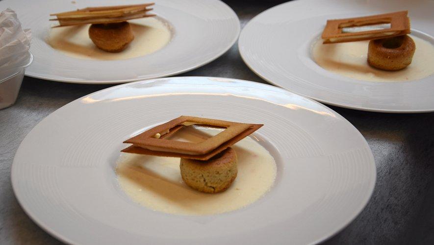 Les restaurateurs ont fait preuve de beaucoup d'imagination pour décliner la gentiane, le fromage et la fouace.