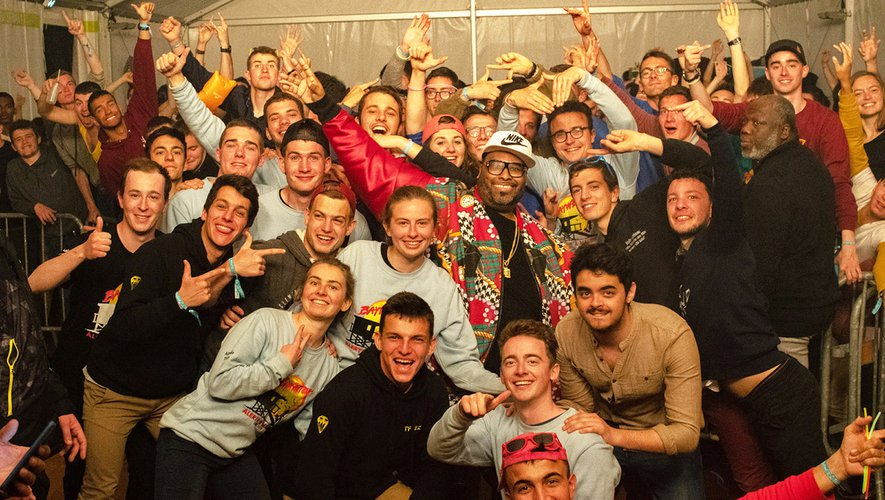 Les lycéens en polytechnique ont passé une soirée avecle rappeur américain Big Ali.
