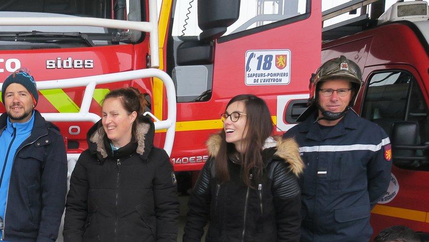 La caserne des pompiers, une découverte.