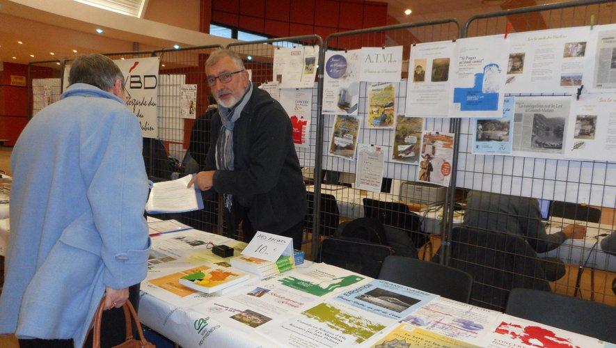 André Romiguière, le président de l'Association pourla promotion du tourismede la vallée du Lot.