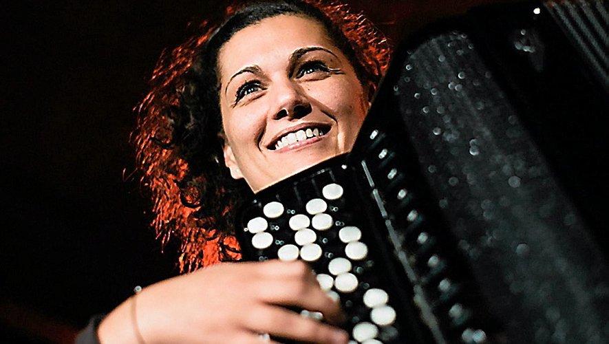 Emilie Marzilli avait un GPS sur son accordéon pour venir à Rodez.