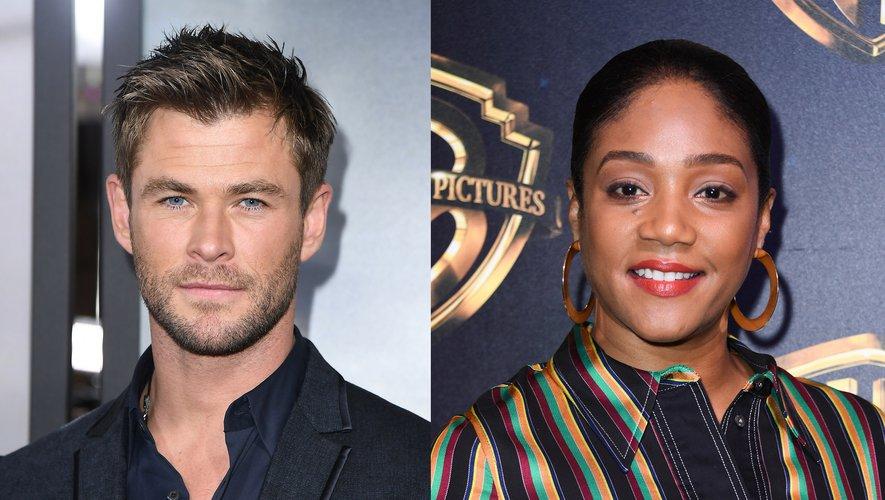 """Chris Hemsworth et Tiffany Haddish tourneront ensemble """"Down Under Cover"""" pour Paramount"""