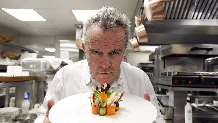 100% des légumes cuisinés dans le restaurant d'Alain Passard ont été cultivés dans un potager