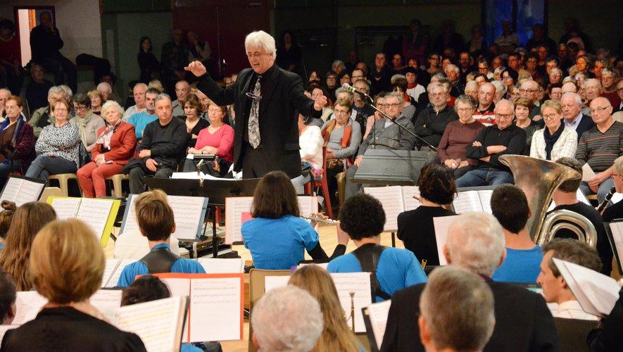 Un concert dirigé de main de maître par Gilles Montagnan.