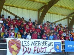 Les jeunes pousses du territoire avec les champions de France de National./Photo DDM.