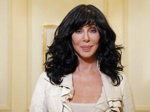 La chanteuse et actrice américaine Cher en 2013