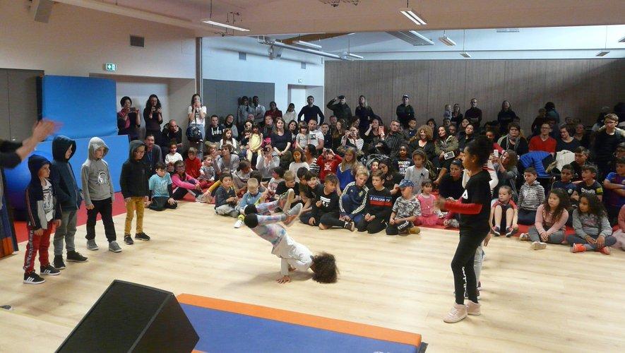 Les enfants ont fait leur show, tandis que les organisateurs faisaient la pause sourire !