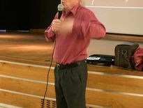 Jean Rudelle a passionné son auditoire en revenant sur l'histoire des mines de fer de Mondalazac-Ferrals.