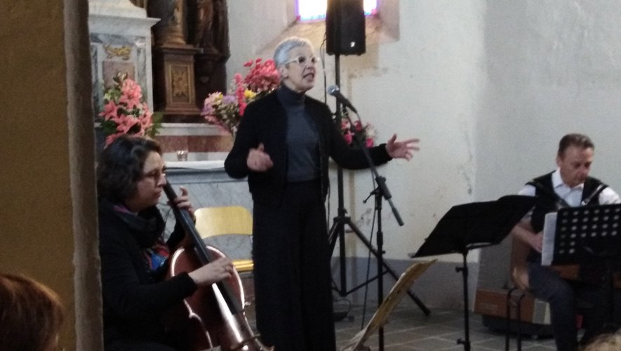 Toutes les lumières de l'Occitan dans la voix de Roseline Courtial !