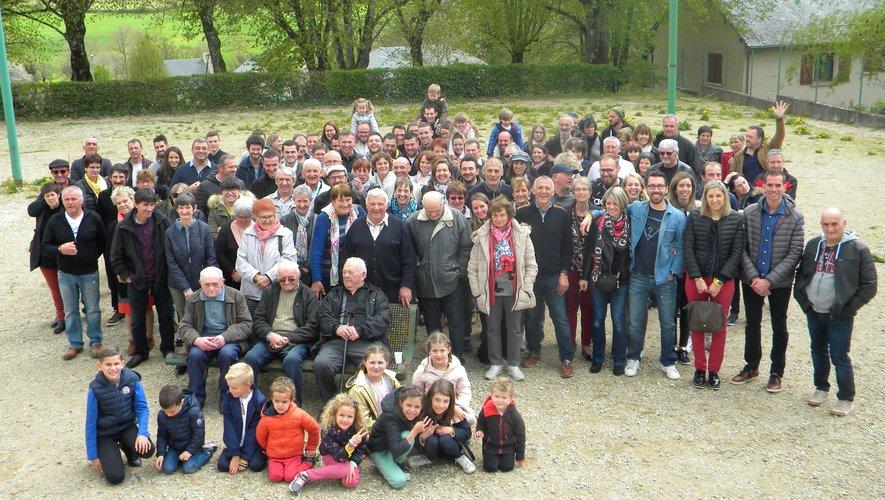 La famille Loubière (presque) au complet