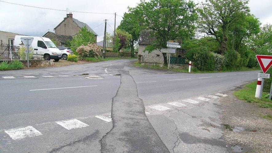 Etat actuel du carrefour