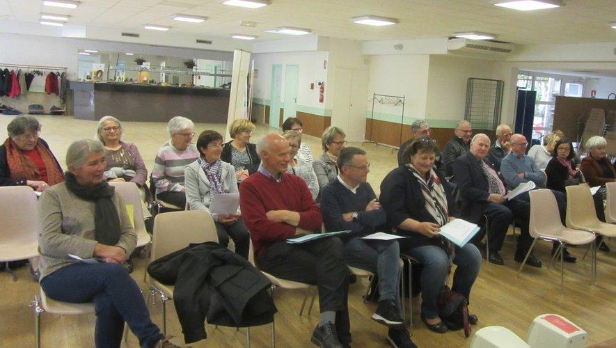 L'assemblée a suivi la présentation des différents rapports de l'année 2018.
