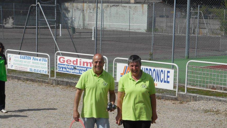 Gérard et Claudine Péco.
