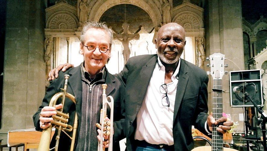 Daniel Alogues et Jean-Marie Tiam, une belle complicité autour de la musique.