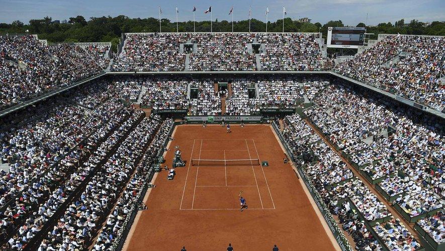 Roland-Garros en 2017.